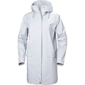 Helly Hansen Moss Rain Coat Women grey fog